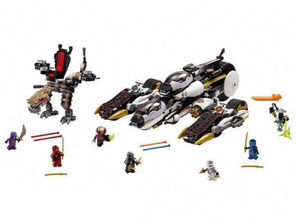 Купить Конструктор Lego Ninjago Лего Ниндзяго Внедорожник с суперсистемой маскировки в интернет магазине игрушек и детских товаров