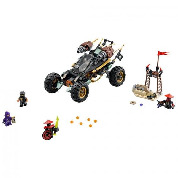 Купить Конструктор Lego Ninjago Лего Ниндзяго Горный внедорожник в интернет магазине игрушек и детских товаров