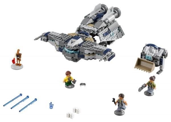 Конструктор Lego Star Wars Лего Звездные войны Confidential TV Special 2