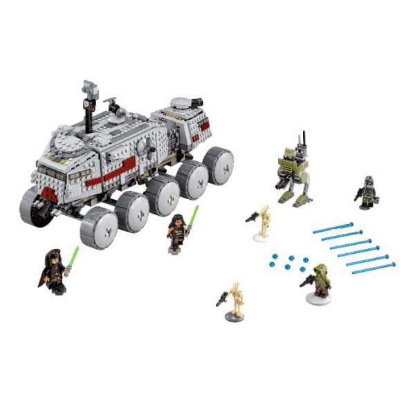 Конструктор Lego Star Wars Лего Звездные войны Турботанк Клонов