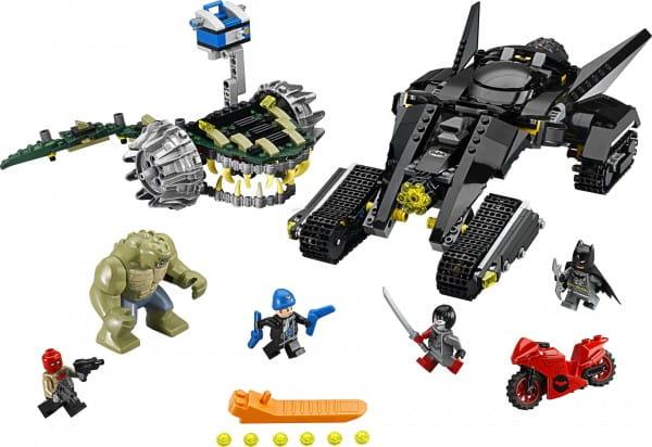 Конструктор Lego 76055 Super Heroes Лего Супер Герои Бэтмен Убийца Крок