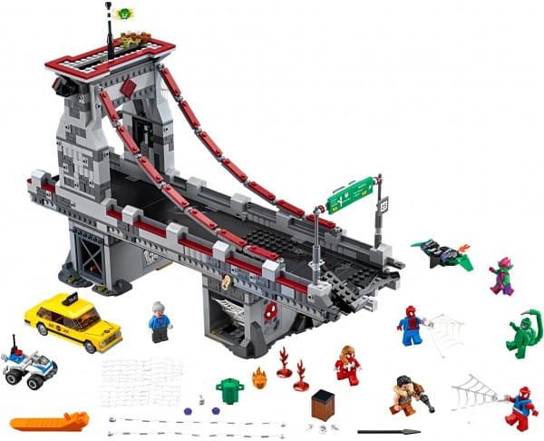 Конструктор Lego 76057 Super Heroes Лего Супер Герои Человек-паук - Последний бой воинов паутины
