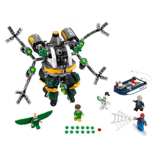 Конструктор Lego 76059 Super Heroes Лего Супер Герои Человек-паук - В ловушке Доктора Осьминога