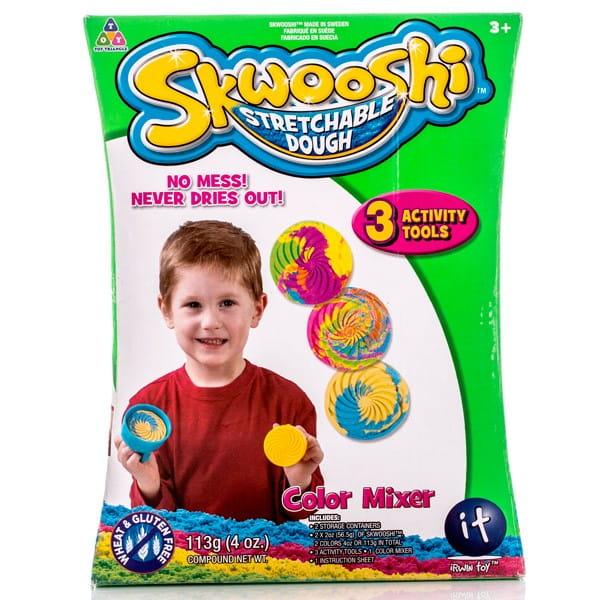 Набор для смешивания цветов Skwooshi - масса для лепки и аксессуары