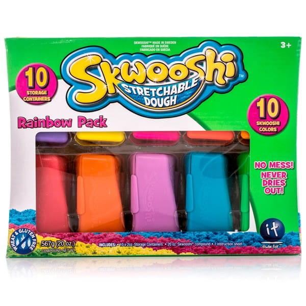 Масса для лепки Skwooshi S30012 - 10 штук (57 г)