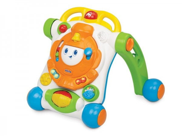 Купить Каталка-сортер Weina Веселый малыш в интернет магазине игрушек и детских товаров