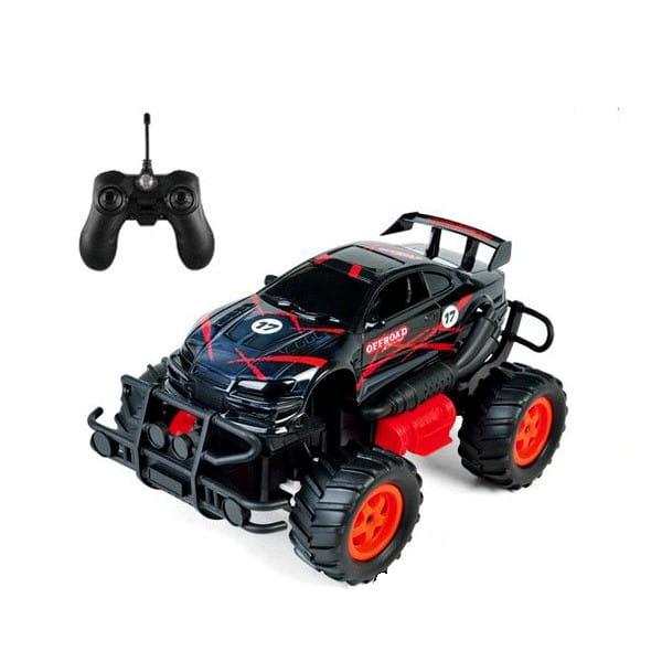Купить Радиоуправляемая машина-внедорожник Yako с аккумулятором - черно-красная в интернет магазине игрушек и детских товаров