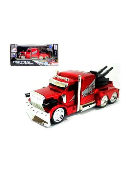 Купить Радиоуправляемая машина-грузовик Yako с аккумулятором и световыми эффектами в интернет магазине игрушек и детских товаров