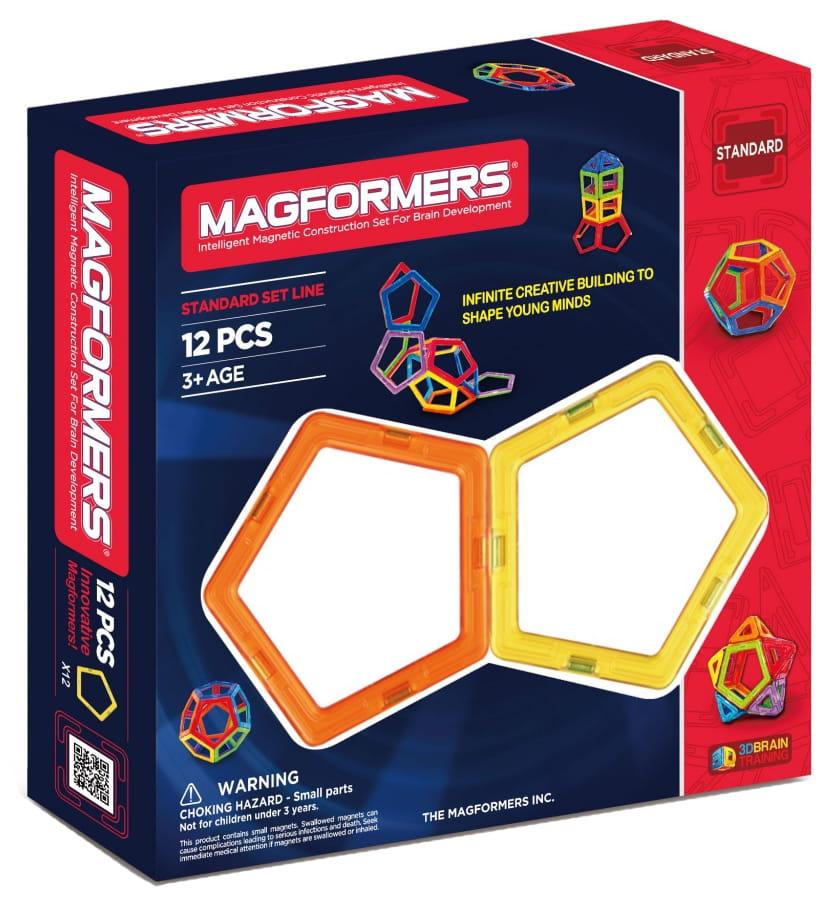 Магнитный конструктор Magformers 701009 (63071)-12 Пятиугольники
