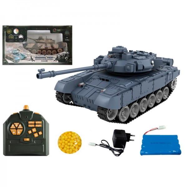 Купить Радиоуправляемый танк Yako М Т90 1:18 - серый в интернет магазине игрушек и детских товаров