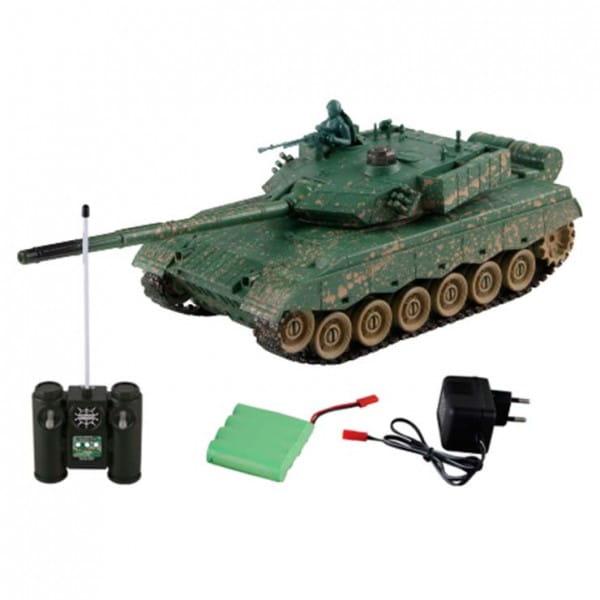 Купить Радиоуправляемый танк Yako М ZTZ-96A 1:24 в интернет магазине игрушек и детских товаров