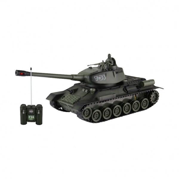 Купить Радиоуправляемый танк Yako М Т34 1:24 - 6106 в интернет магазине игрушек и детских товаров