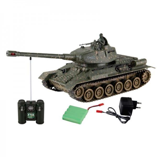 Купить Радиоуправляемый танк Yako М Т34 1:24 - зеленый в интернет магазине игрушек и детских товаров