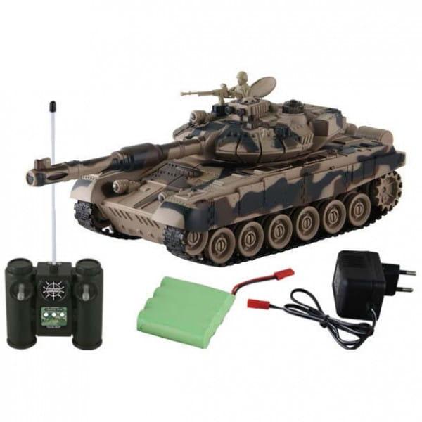 Купить Радиоуправляемый танк Yako М Т90 1:24 - 6105-01 в интернет магазине игрушек и детских товаров