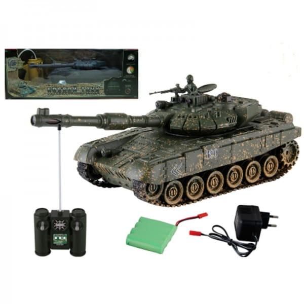 Купить Радиоуправляемый танк Yako М Т90 1:24 - 6105-02 в интернет магазине игрушек и детских товаров