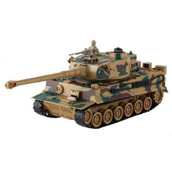 Купить Радиоуправляемый танк Yako М Тигр 1:24 в интернет магазине игрушек и детских товаров