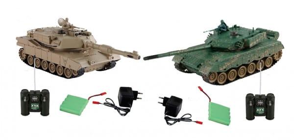 Танковый бой Yako М ZTZ-96A против M1A2 - 1:24