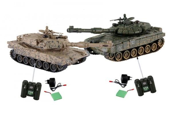 Купить Танковый бой Yako М М1А2 (Абрамс) против Тигра - 1:24 в интернет магазине игрушек и детских товаров