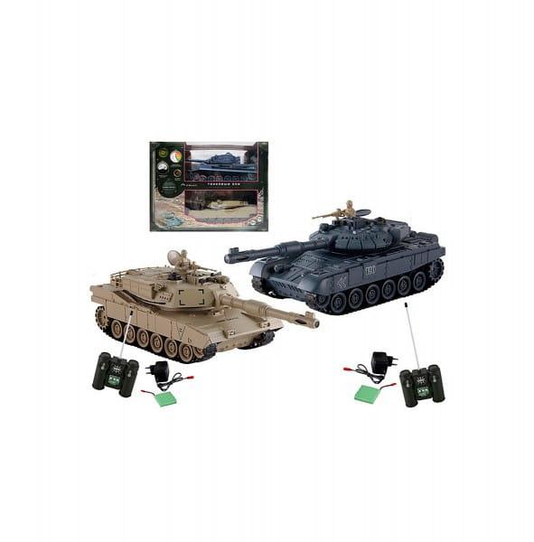 Купить Танковый бой Yako М Т90 против Тигра 1:24 в интернет магазине игрушек и детских товаров