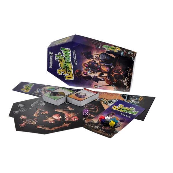 Купить Настольная игра Magellan Зомби-обезьянаааа! в интернет магазине игрушек и детских товаров