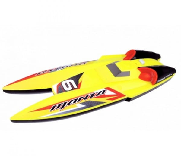 Радиоуправляемая лодка Dickie 31 см 1:28 - желтая