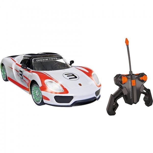 Купить Радиоуправляемая машина Dickie Porsche Spyder 26 см 1:16 в интернет магазине игрушек и детских товаров