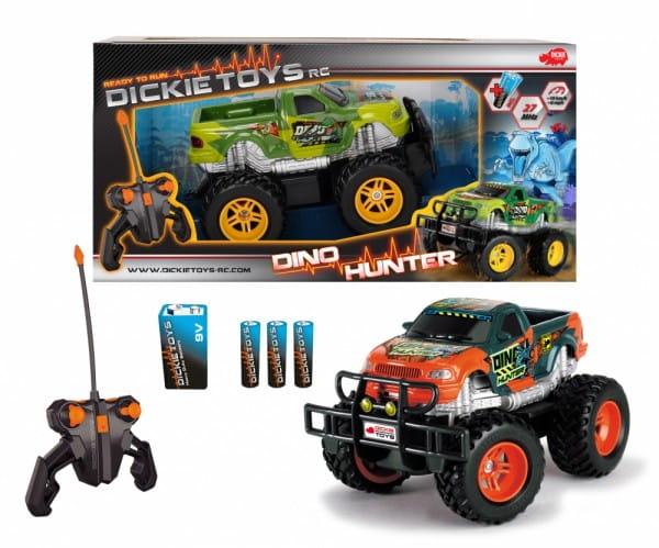 Купить Радиоуправляемая машина Dickie Джип Dino Hunter 19 см 1:24 в интернет магазине игрушек и детских товаров