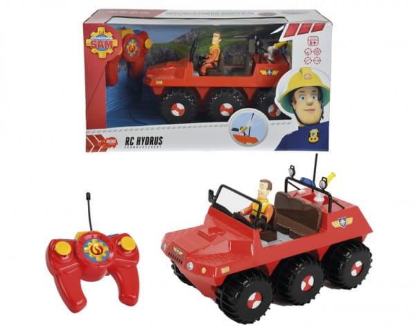 Купить Игровой набор Fireman Sam Пожарный Сэм Радиоуправляемый вездеход с фигуркой (Dickie) в интернет магазине игрушек и детских товаров
