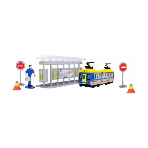 Игровой набор Dickie Трамвайная остановка