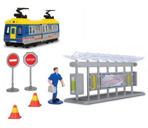 Игровой набор Dickie Большая трамвайная остановка