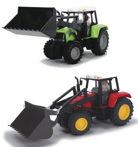 Трактор Dickie фрикционный - 25 см