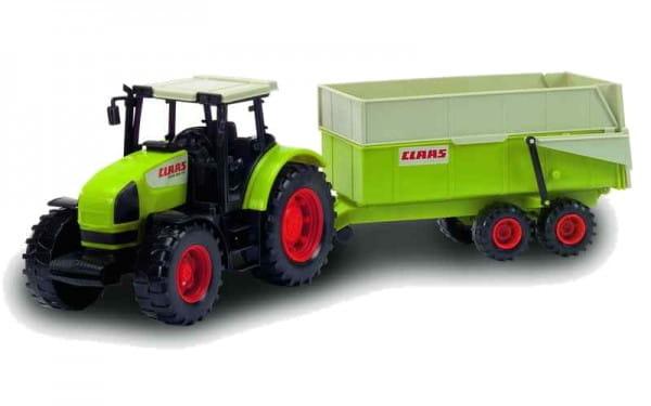 Трактор Dickie с прицепом - 57 см
