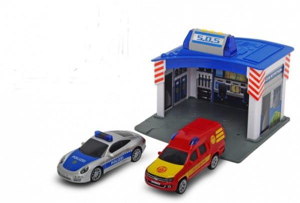 Купить Игровой набор Dickie Станция спасения SOS в интернет магазине игрушек и детских товаров