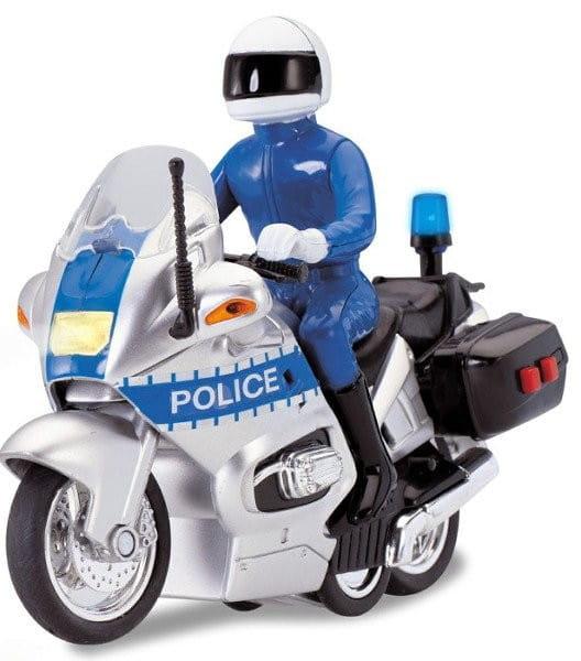 Полицейский мотоцикл Dickie 3712004 со звуком - 15 см