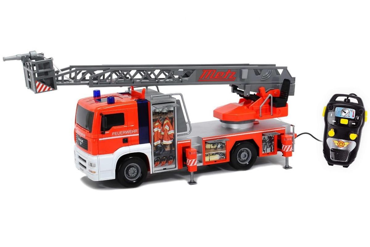 Пожарная машина DICKIE с дистанционным управлением - 50 см