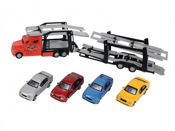 Игровой набор Dickie 3745000 Транспортер с машинками