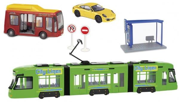 Игровой набор Dickie Городской транспорт 2