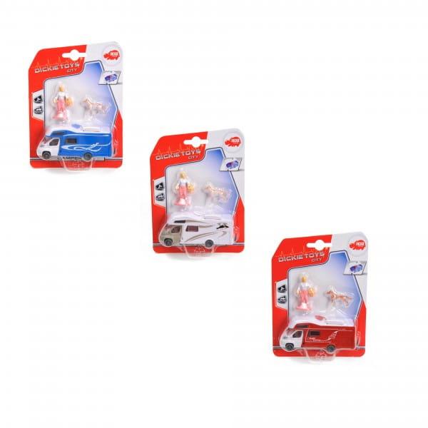 Игровой набор Dickie 3341011 Машинка для кемпинга (с фигурками)