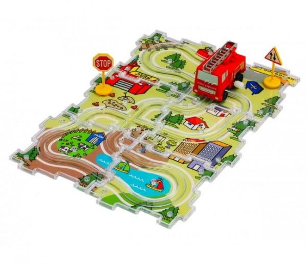 Купить Игровой набор Dickie Машинка с дорогой в интернет магазине игрушек и детских товаров