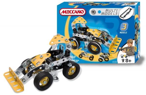 Купить Конструктор Meccano Multimodels Экскаватор - 3 модели в интернет магазине игрушек и детских товаров