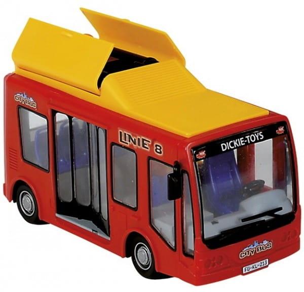 Городской автобус Dickie 16 см 1:32 2