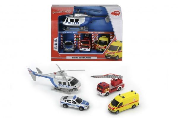 Купить Игровой набор Dickie Гараж спасателей SOS в интернет магазине игрушек и детских товаров