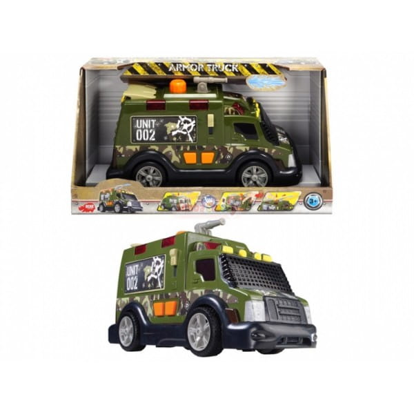 Военный автомобиль Dickie 3308364 со звуком - 33 см