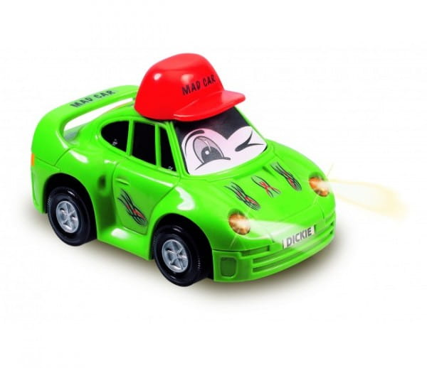 Веселая машинка Dickie 3313007 со светом - 12 см