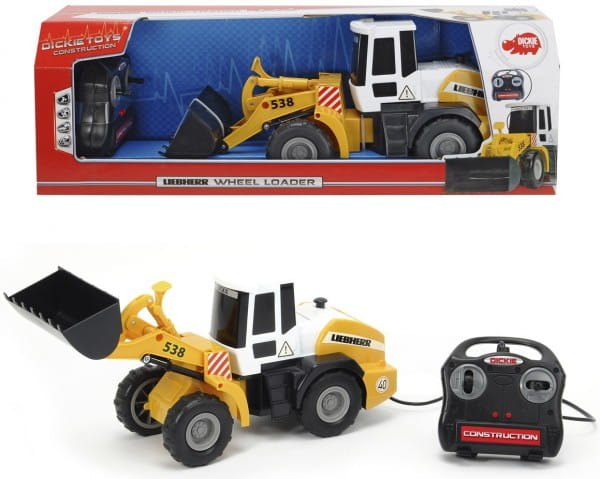 Купить Бульдозер Dickie с дистанционным управлением - 40 см в интернет магазине игрушек и детских товаров