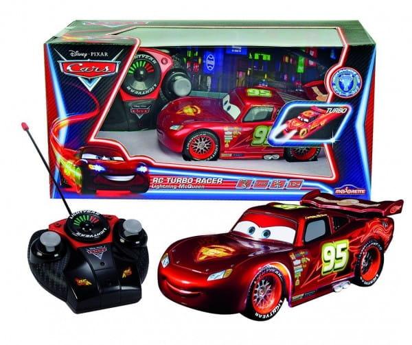 Купить Радиоуправляемая машина Dickie Молния МакКуин с неоновой подсветкой 1:24 в интернет магазине игрушек и детских товаров