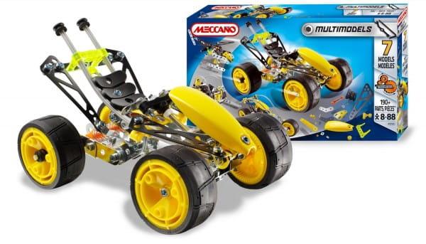 Купить Конструктор Meccano Multimodels Багги - 7 моделей в интернет магазине игрушек и детских товаров