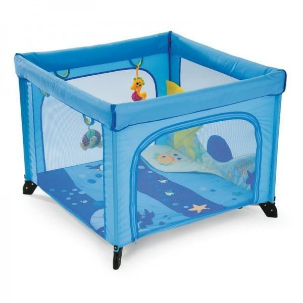 Купить Манеж Chicco Open World Sea Dreams в интернет магазине игрушек и детских товаров