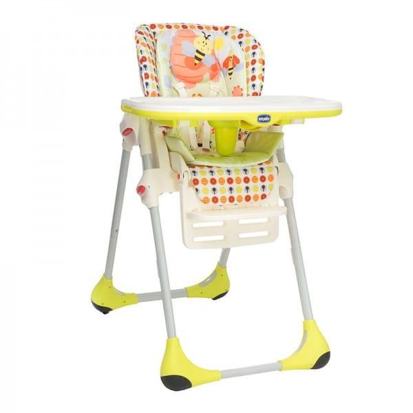 Купить Стульчик для кормления Chicco Polly 2 в 1 - Sunny в интернет магазине игрушек и детских товаров