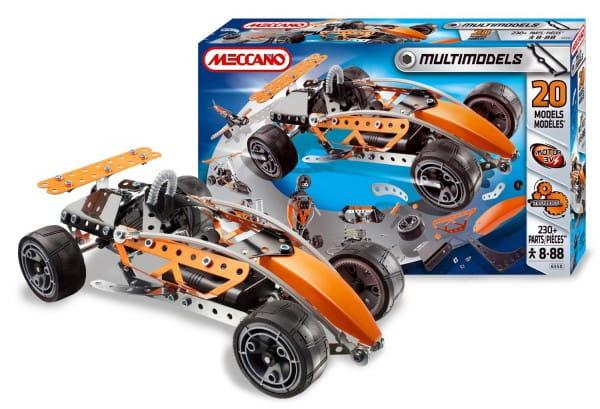 Купить Конструктор Meccano Multimodels Спорткар - 20 моделей в интернет магазине игрушек и детских товаров